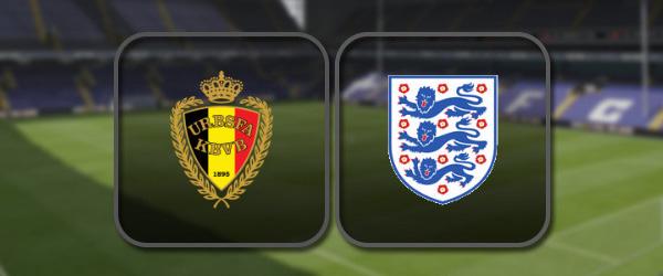 Бельгия – Англия: Полный матч и Лучшие моменты
