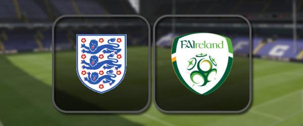 Англия – Ирландия: Лучшие моменты