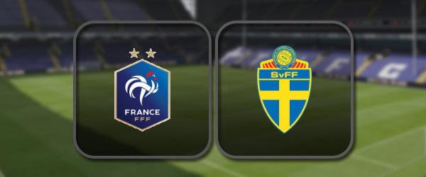 Франция – Швеция онлайн трансляция