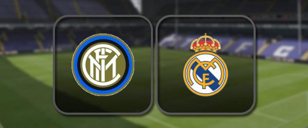 Интер – Реал Мадрид онлайн трансляция