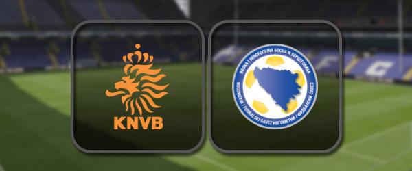 Нидерланды – Босния и Герцеговина: Полный матч и Лучшие моменты