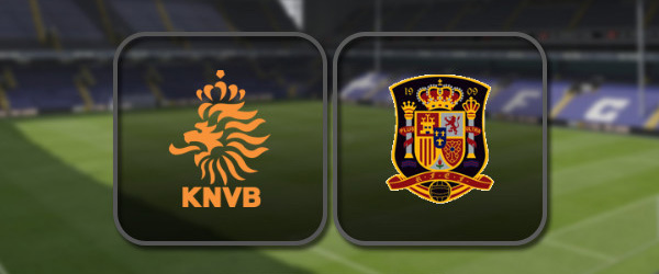 Нидерланды – Испания: Полный матч и Лучшие моменты