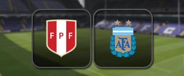 Перу – Аргентина: Полный матч и Лучшие моменты