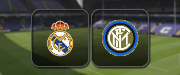 Реал Мадрид – Интер онлайн трансляция