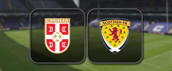 Сербия – Шотландия: Полный матч и Лучшие моменты