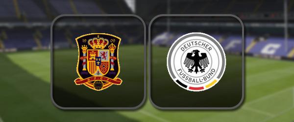 Испания – Германия онлайн трансляция
