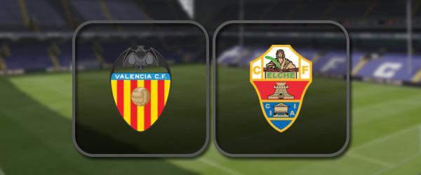 Валенсия - Эльче онлайн трансляция