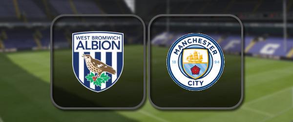 Вест Бромвич - Манчестер Сити: Полный матч и Лучшие моменты