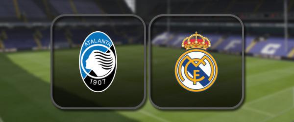 Аталанта - Реал Мадрид онлайн трансляция