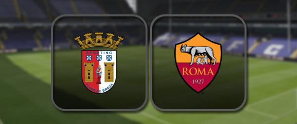 Брага - Рома онлайн трансляция