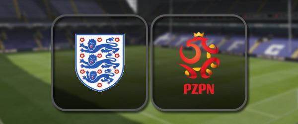 Англия - Польша онлайн трансляция