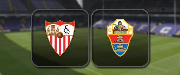 Севилья - Эльче: Полный матч и Лучшие моменты