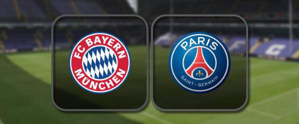 Бавария - ПСЖ: Полный матч и Лучшие моменты
