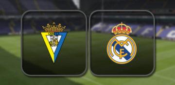 Кадис - Реал Мадрид
