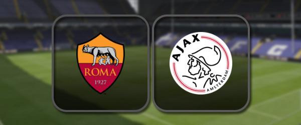 Рома - Аякс: Полный матч и Лучшие моменты