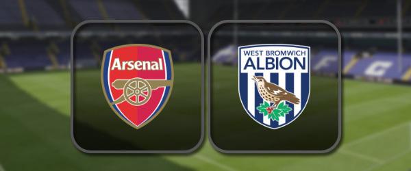 Арсенал - Вест Бромвич: Полный матч и Лучшие моменты
