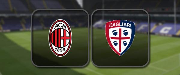 Милан - Кальяри: Полный матч и Лучшие моменты