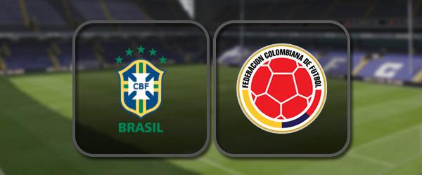 Бразилия - Колумбия: Полный матч и Лучшие моменты