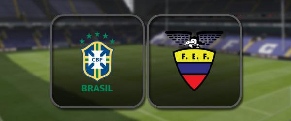 Бразилия - Эквадор: Полный матч и Лучшие моменты