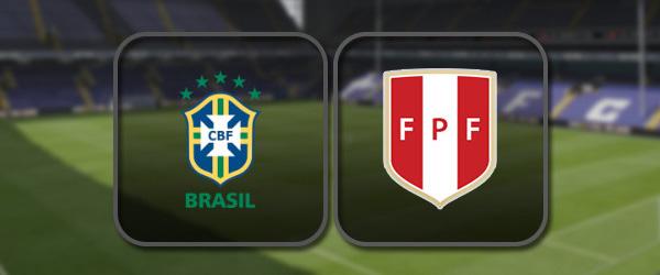 Бразилия - Перу: Полный матч и Лучшие моменты