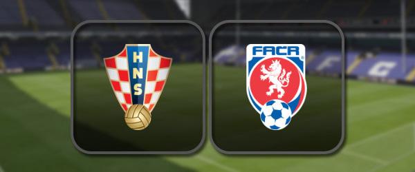 Хорватия - Чехия онлайн трансляция