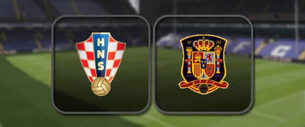 Хорватия - Испания: Полный матч и Лучшие моменты