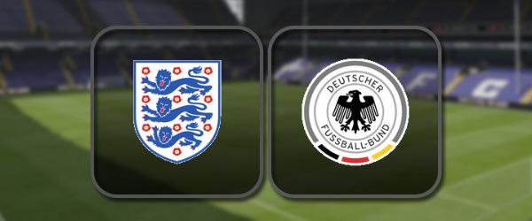 Англия - Германия: Полный матч и Лучшие моменты