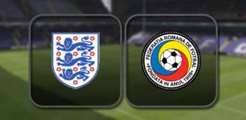 Англия - Румыния