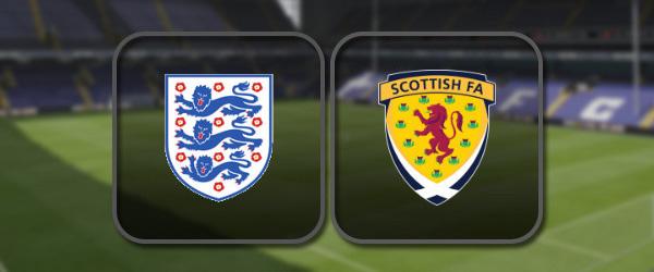 Англия - Шотландия: Полный матч и Лучшие моменты