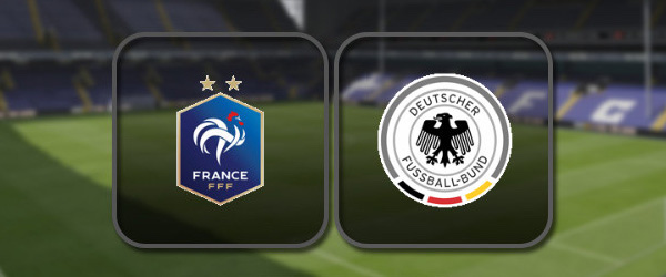 Франция - Германия онлайн трансляция
