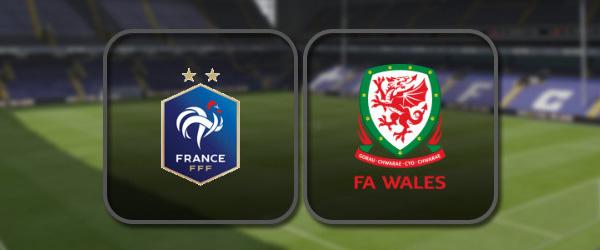 Франция - Уэльс: Полный матч и Лучшие моменты