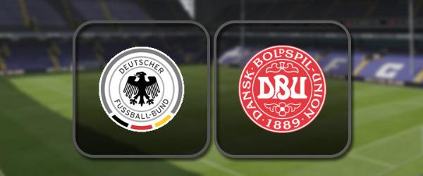 Германия - Дания: Полный матч и Лучшие моменты