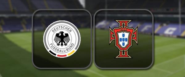 Германия U-21 - Португалия U-21 онлайн трансляция