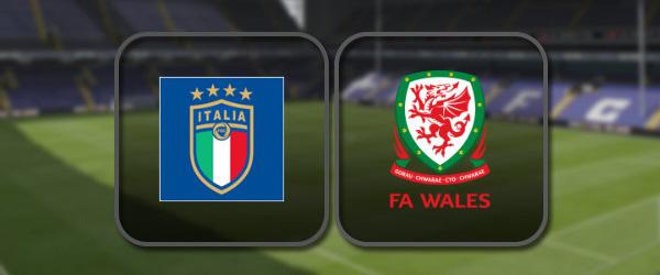 Италия - Уэльс: Полный матч и Лучшие моменты