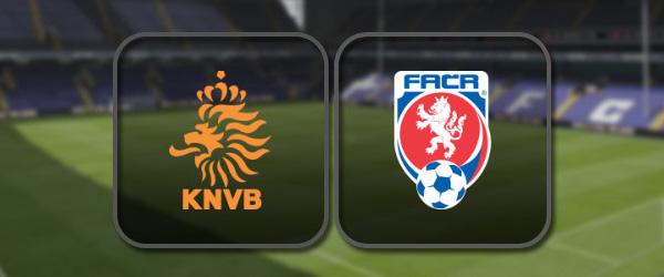 Нидерланды - Чехия онлайн трансляция
