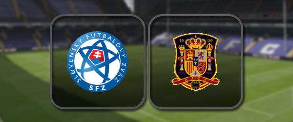 Словакия - Испания: Полный матч и Лучшие моменты