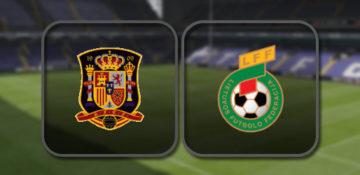 Испания - Литва