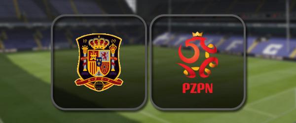 Испания - Польша онлайн трансляция