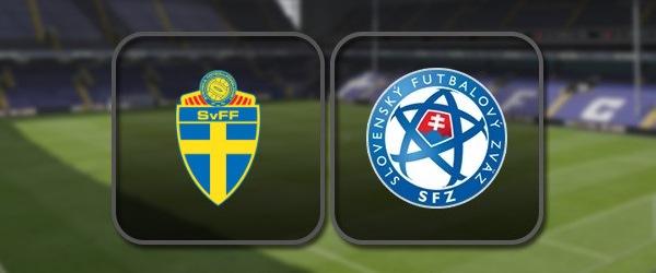 Швеция - Словакия онлайн трансляция