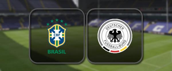 Бразилия - Германия онлайн трансляция