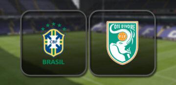 Бразилия - Кот-д'Ивуар