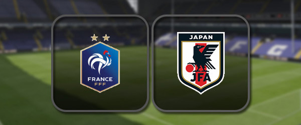 Франция - Япония онлайн трансляция