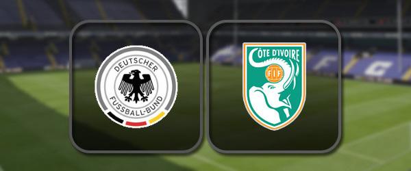 Германия - Кот-д'Ивуар: Полный матч и Лучшие моменты