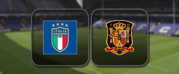 Италия - Испания онлайн трансляция