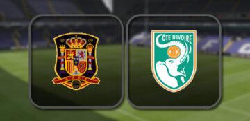 Испания - Кот-д'Ивуар