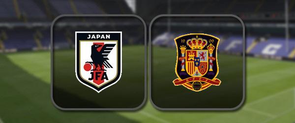 Япония - Испания: Полный матч и Лучшие моменты