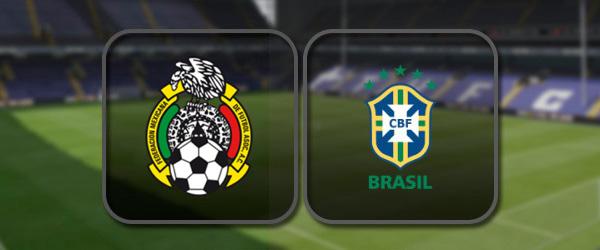 Мексика - Бразилия онлайн трансляция