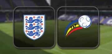 Англия - Андорра