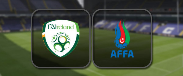 Ирландия - Азербайджан онлайн трансляция