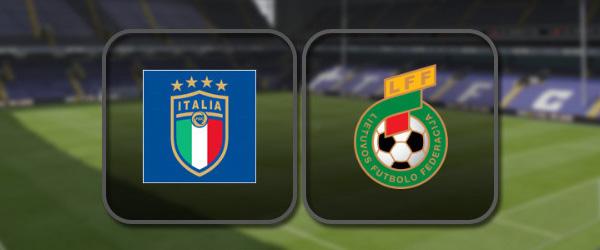 Италия - Литва: Лучшие моменты